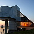 Rock Hall At Sunset by Allan Wrona