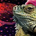 Rock Lizard by Art Dingo