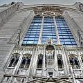 Rockefeller Chapel Entrance by David Bearden