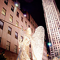 Rockefeller Plaza At Christmas by Heidi Reyher