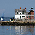 Rockland Breakwater Lighthouse by Glenn Gordon