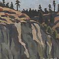 rocks along the Sanpoil river by Nikolai Kraneis