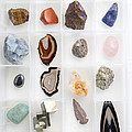 Rocks And Minerals by Photo Researchers