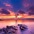 Rocks In Beach by Chia-Hsing Wu