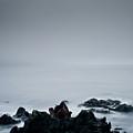 Rocks In Water At Sea by Ahfox21