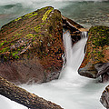 Rocks Of Avalanche Gorge by Greg Nyquist