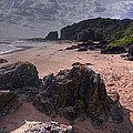 Rocks On The Shore by Terry Everson