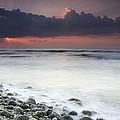 Rocky Beach At Sunrise Hawf Protected by Sebastian Kennerknecht