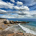 Rocky Coast In Malibu California by Jill Battaglia