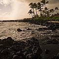Rocky Coastline, Poipu, Kauai, Hawaii by Keith Levit