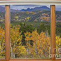 Rocky Mountain Autumn Picture Window Scenic View by James BO  Insogna
