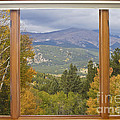 Rocky Mountain Picture Window Scenic View by James BO Insogna