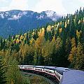 Rocky Mountain Rail Tours, Jasper by Mike Grandmailson