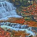 Rocky Pool Falls by Adam Jewell