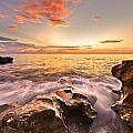 Rocky Surf by Debra and Dave Vanderlaan