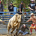 Rodeo Clowns To The Rescue by Sean Griffin