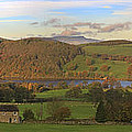 Roe House Overlooks Ullswater Near Pooley Bridge In The Lake District by Louise Heusinkveld
