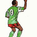 Roger Milla by Emmanuel Baliyanga