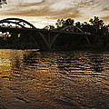 Rogue River Sunset by Mick Anderson