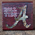 Roll Tide - Small by Racquel Morgan
