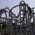 Roller Coaster Rides Inside The Universal Studio Park In Sentosa by Ashish Agarwal
