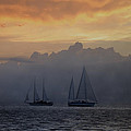 Rolling Fog Bank - Key West by Bill Cannon