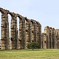 Roman Aquaduct by Sheila Terry