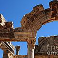 Roman Arch Ephesus Turkey by Bob Christopher