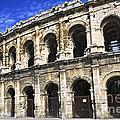 Roman Arena In Nimes France by Elena Elisseeva