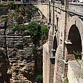 Roman Bridge Of Ronda by Perry Van Munster
