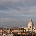 Roman Cityscape With Basilica by Nico De Pasquale Photography