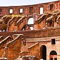 Roman Coliseum Interior by Jon Berghoff