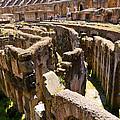 Roman Coliseum Underground by Jon Berghoff