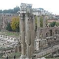 Roman Forum by Barbara Saccente