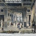 Roman House Interior by Granger