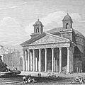 Roman Pantheon, 1833 by Granger