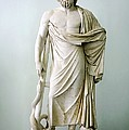 Roman Statue Of Asclepius by Sheila Terry