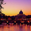 Roman Sunset by Karl Borg