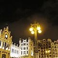 Romantic Valencia Side Street Lights At Night II Spain by John Shiron