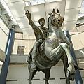 Rome Italy. Capitoline Museums Emperor Marco Aurelio by Bernard Jaubert