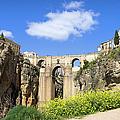 Ronda Bridge In Spain by Artur Bogacki