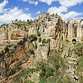 Ronda Rocks In Andalusia by Artur Bogacki