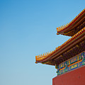 Roof Of Forbidden City, Beijing, China by Pan Hong