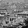 Roof Tops Of Paris by Eric Tressler