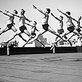 Rooftop Dancers In New York by Underwood Archives