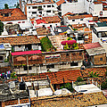 Rooftops In Puerto Vallarta Mexico by Elena Elisseeva
