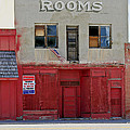 Rooms And A Beer Sign by James Steele