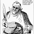 Roosevelt Cartoon, 1938 by Granger