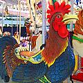 Rooster With An Attitude by Garland Johnson