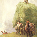 Roping The Wagon by Henry H Sands